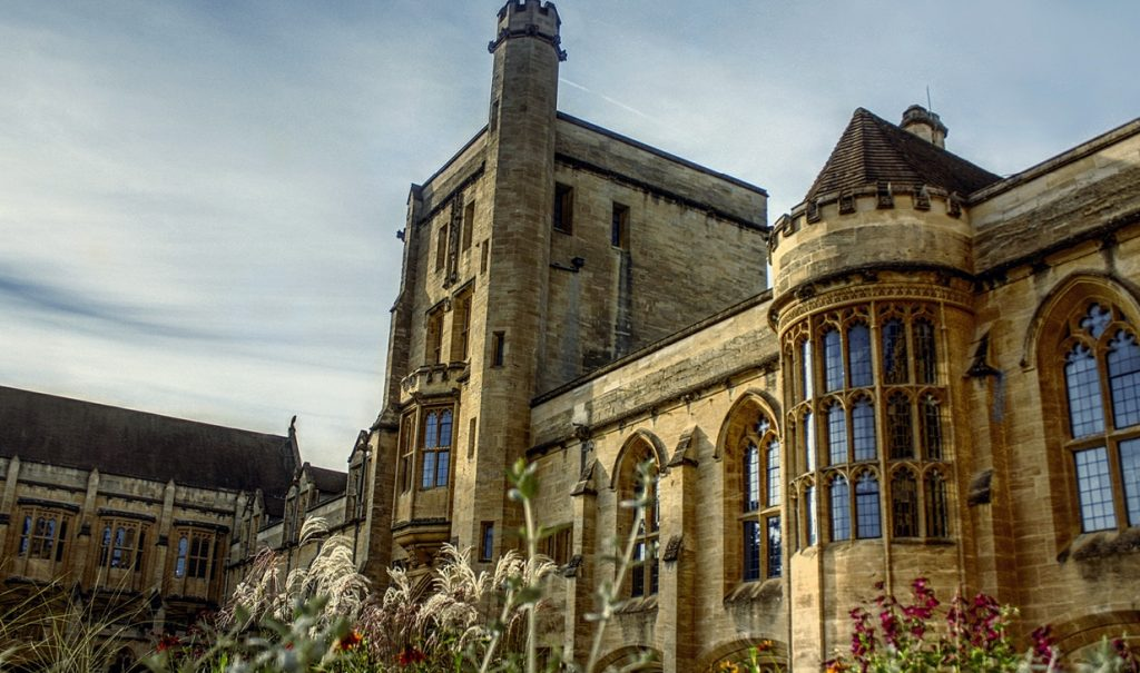 Picture of Mansfield College Oxford, of which Sir Chris Deverell is now an Honorary Fellow
